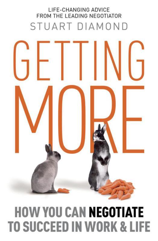 """Getting More"" by Stuart Diamond"