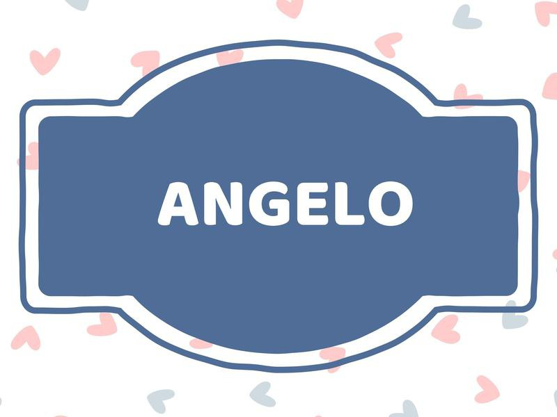 Unique Baby Boy Names: Angelo