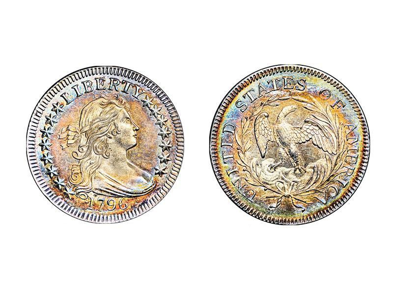 1796 B-2 Draped Bust Quarter