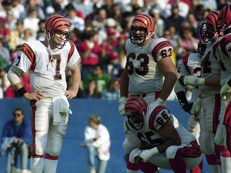 Cincinnati Bengals quarterback Boomer Esiason