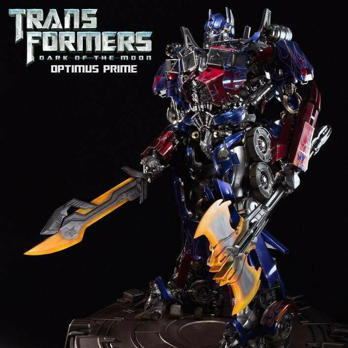 Optimus Prime Dark of the Moon Statue