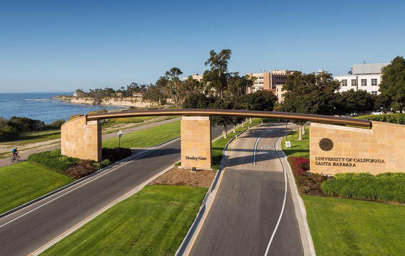 University of California, Santa Barbara entrance