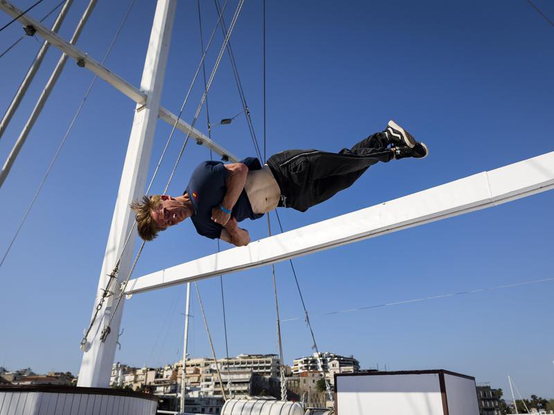 Evgeny Aroyan twist jumping