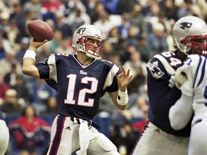 New England Patriots quarterback Tom Brady passes