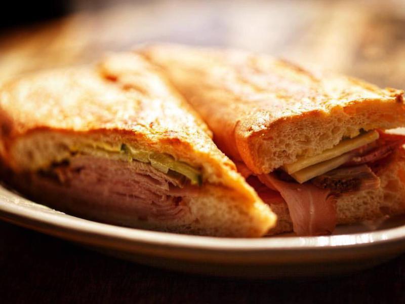 Cuban sandwich at Carmine's Ybor
