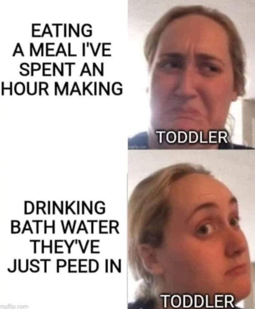 Toddler meme