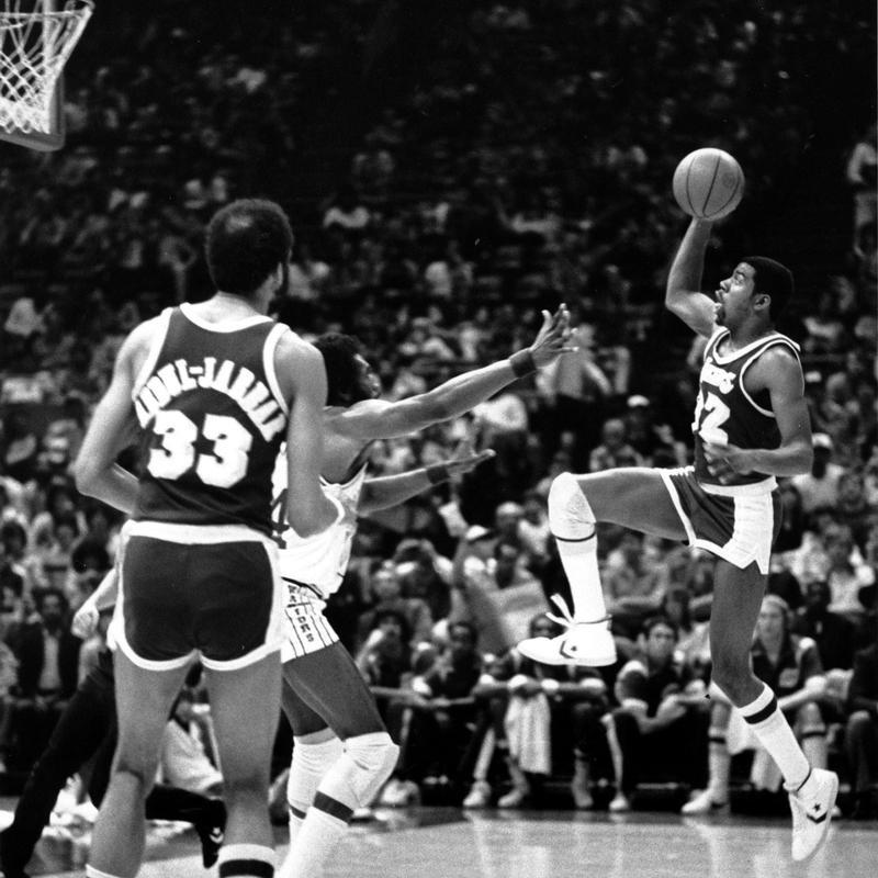 Magic Johnson, Kareem Abdul Jabbar
