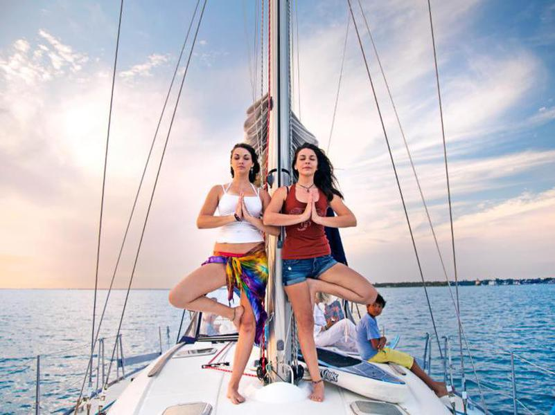 Paradise Sailing Yoga Retreat