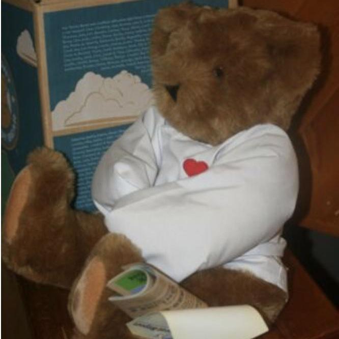 """""""Crazy 4 You"""" Vermont Teddy Bear"""