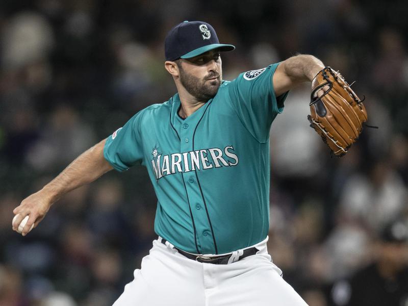 Seattle Mariners reliever Matt Magill