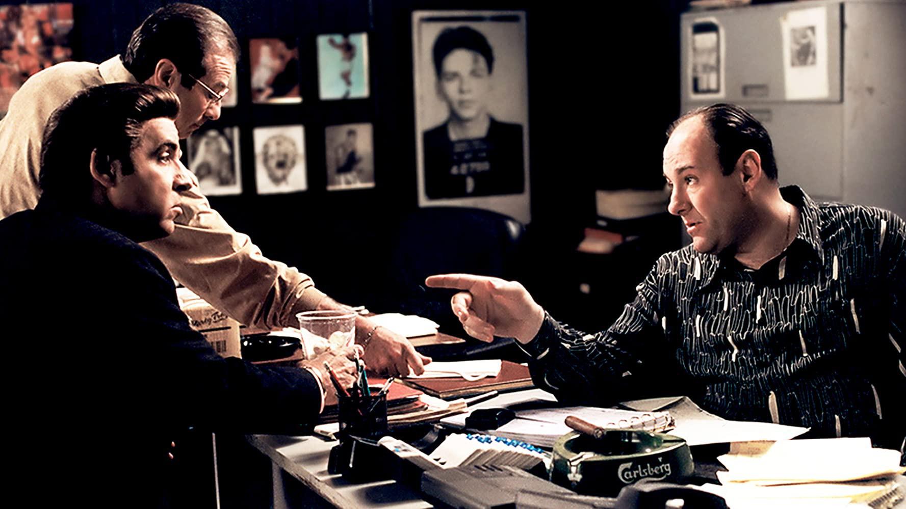 Tony Soprano's office