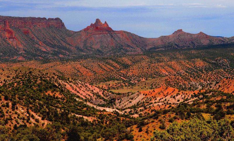 Four distinct, named parcels of land comprise West Creek Ranch's 6,919 acres.