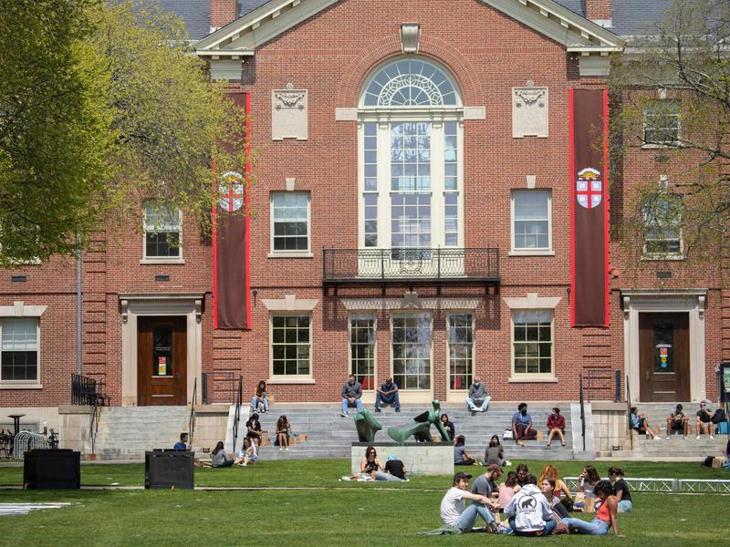 Students at Brown University