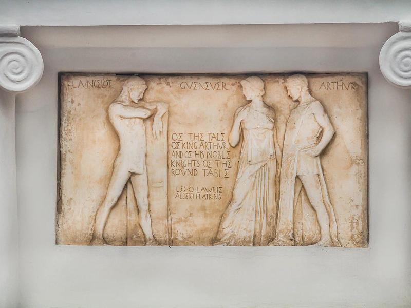 King Arthur relief