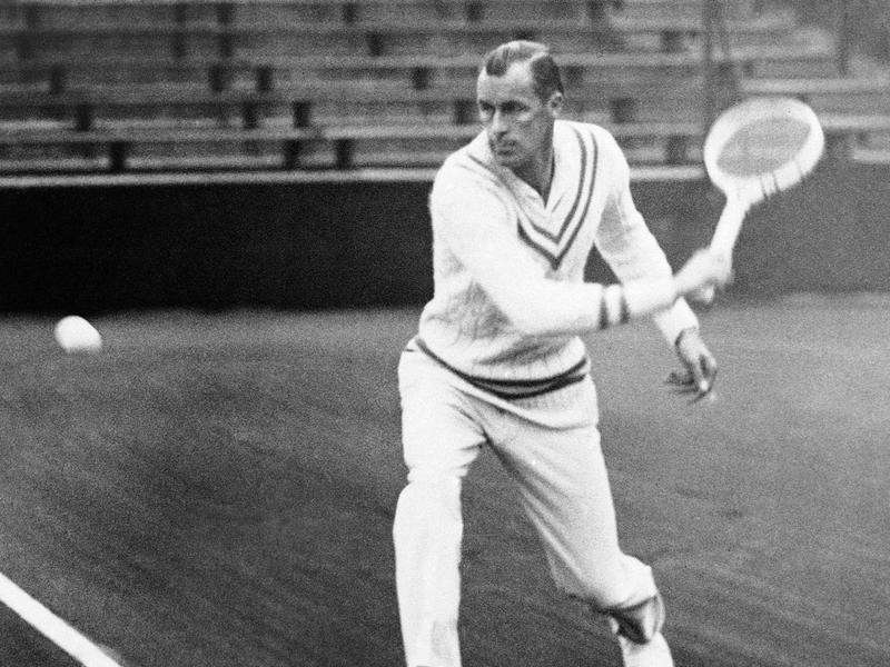 American tennis player Bill Tilden