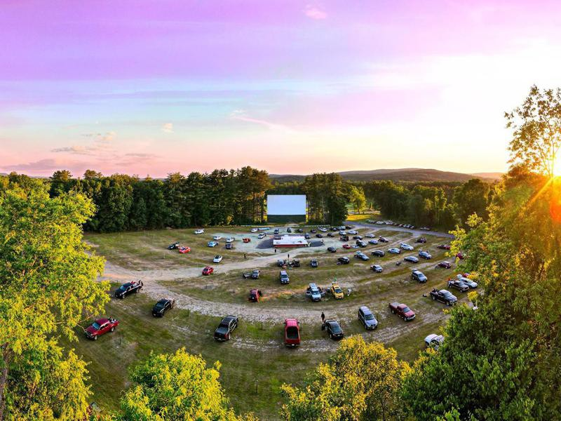 Northfield Drive-In Theater in New Hampshire