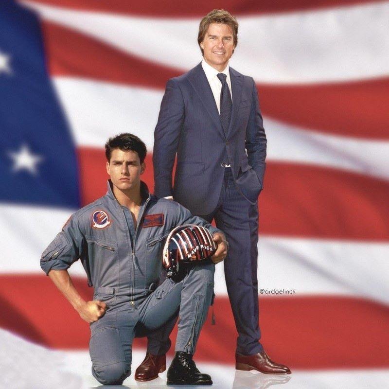Tom Cruise and Maverick