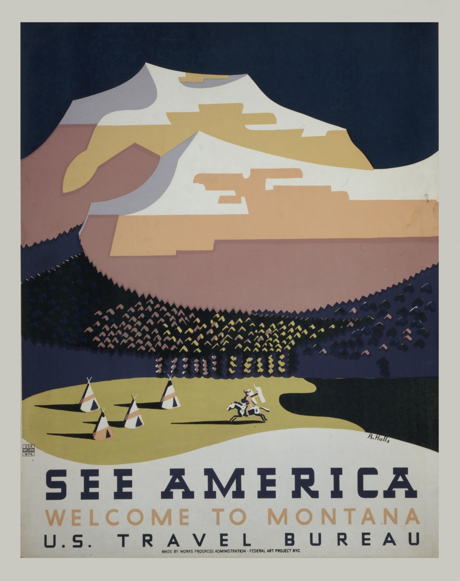U.S. Travel Bureau ad