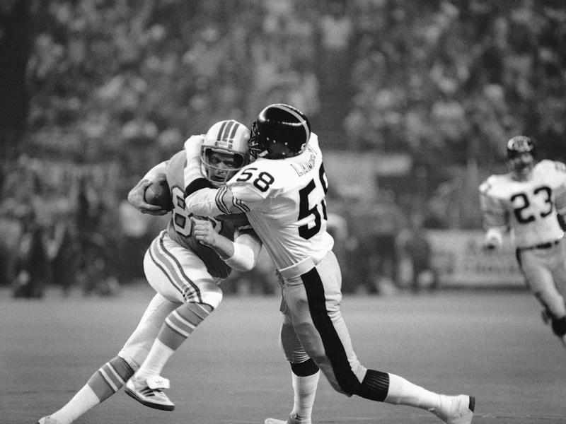 Pittsburgh Steelers Linebacker Jack Lambert