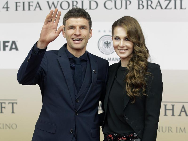 Lisa Trede and Thomas Muller