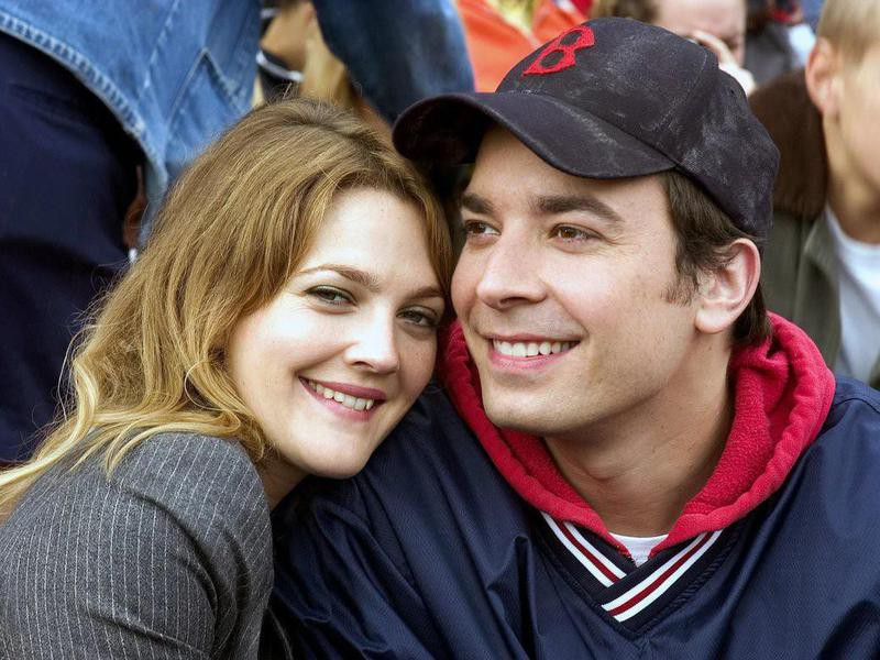Drew Barrymore and Jimmy Fallon