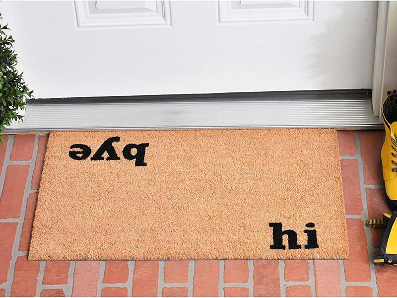 Hi bye funny doormats