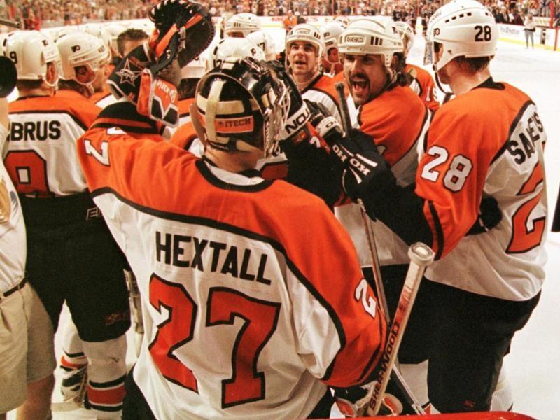 Philaelphia Flyers congratulate Ron Hextall
