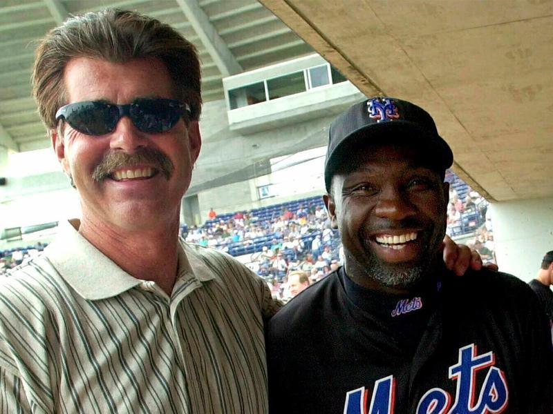 Bill Buckner and Mookie Wilson