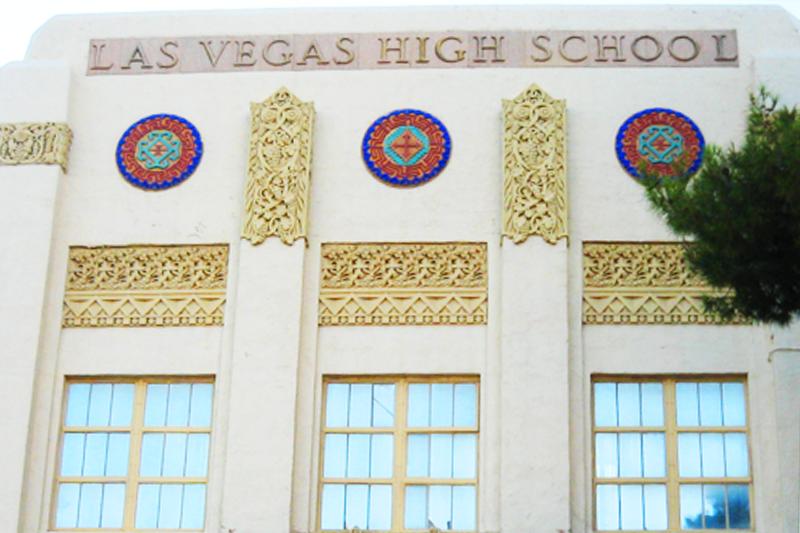 Las Vegas High School in Nevada