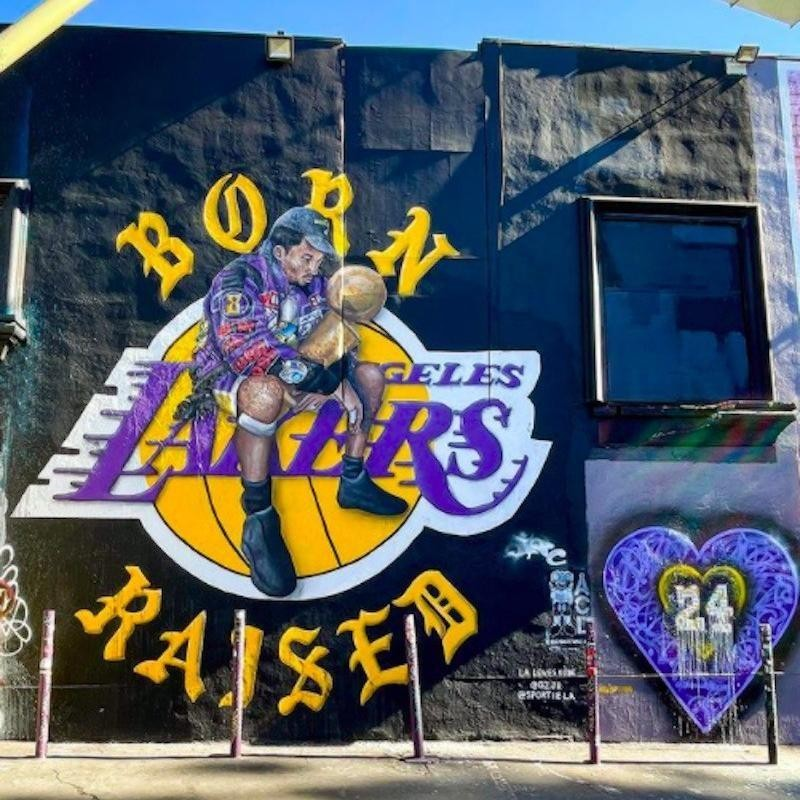 Kobe Bryant in Los Angeles