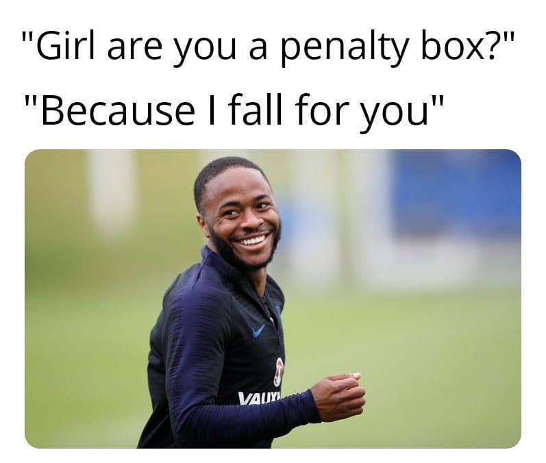 Penalty box pickup line
