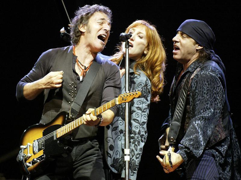 Bruce Springsteen, Steven Van Zandt, Patty Scialfa