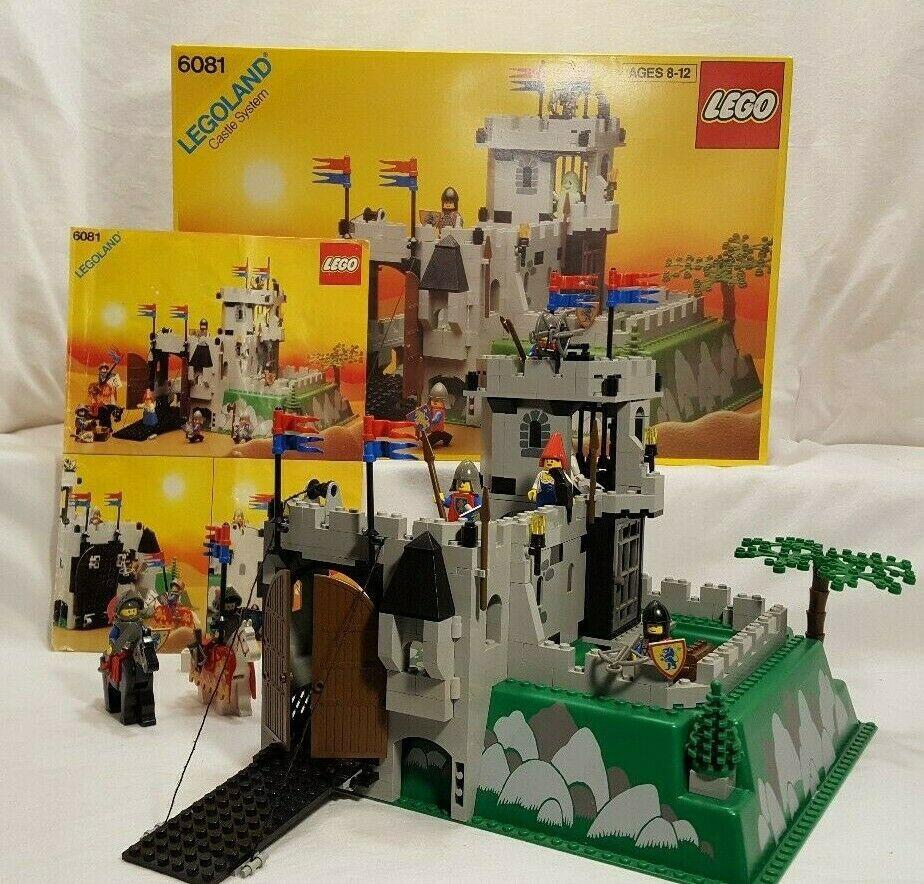 King's Mountain Fortress Lego set