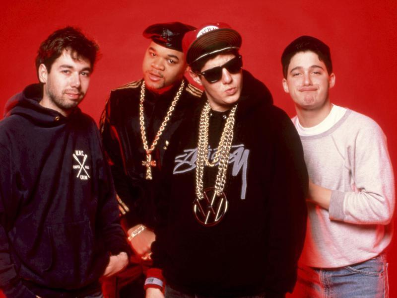 The Beastie Boys and DJ Hurricane