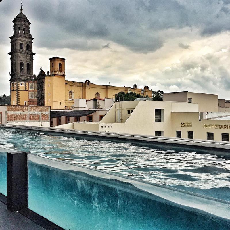 Hotel la Purificadora pool