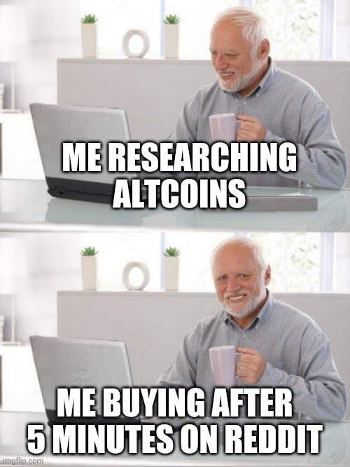 Altcoin meme