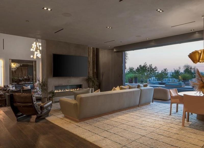 Big TV room