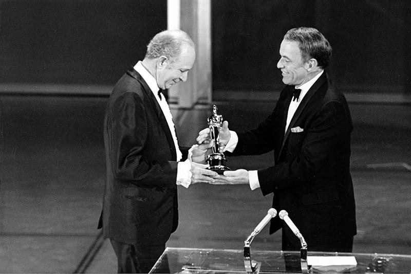 Frank Sinatra and Jack Albertson