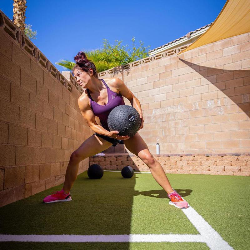 Miesha Tate working out