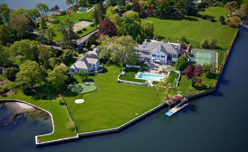 It's not just the most expensive house in town. It's the most expensive home in all of Connecticut.