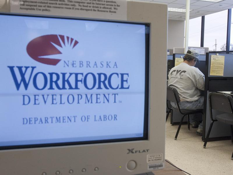 Job seeker in Omaha, Nebraska