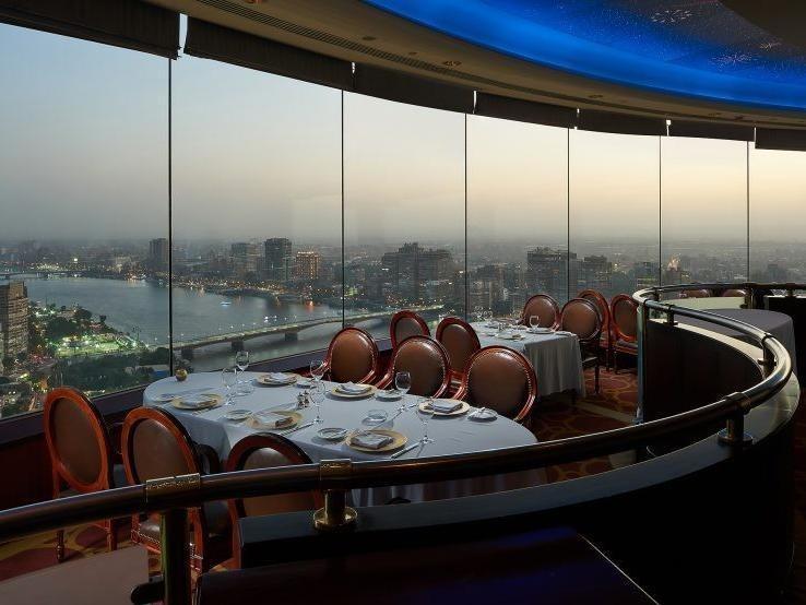 Revolving Restaurant at The Grand Nile Tower Hotel