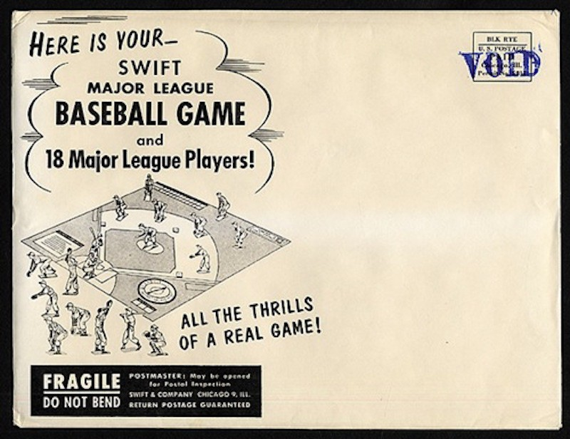 Swift Meats Major League Baseball Game Value