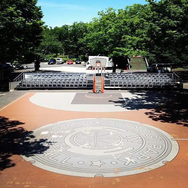Yoyogi Park Basketball Courts