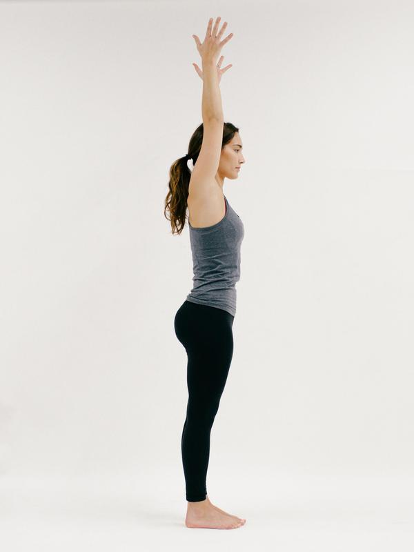 Tadasana - 10 Minutes of Yoga to Jumpstart Your Work Day