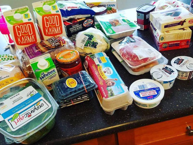 Instacart groceries