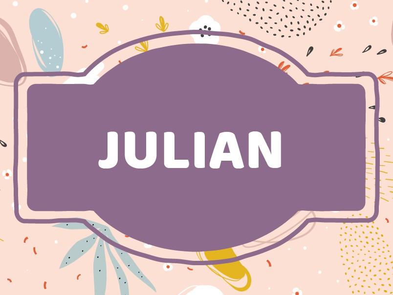 Baby Name Inspiration: Julian
