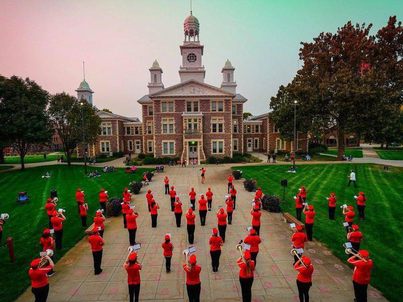 University of South Dakota band