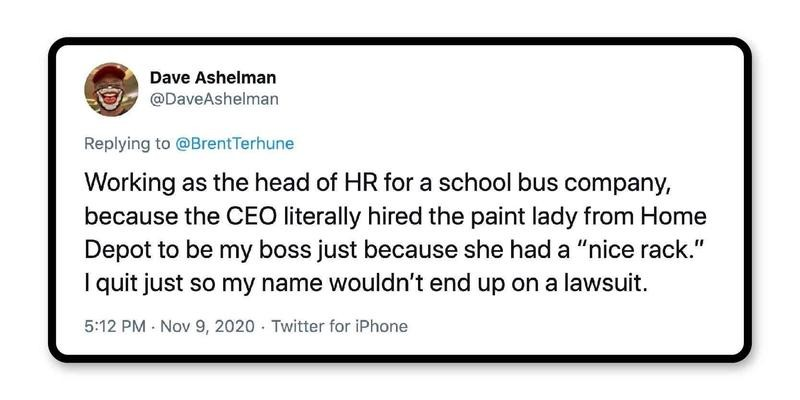 Another bad boss