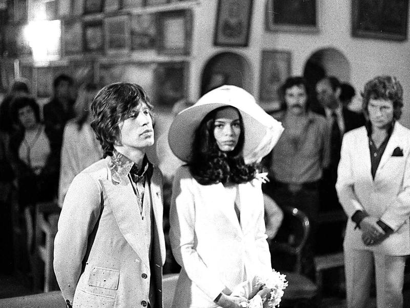 jagger marriage